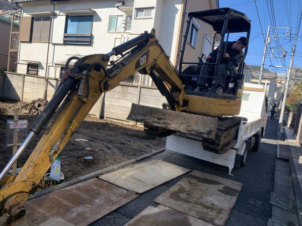 杉並区阿佐ヶ谷南 地中埋設物撤去工事を行いました。