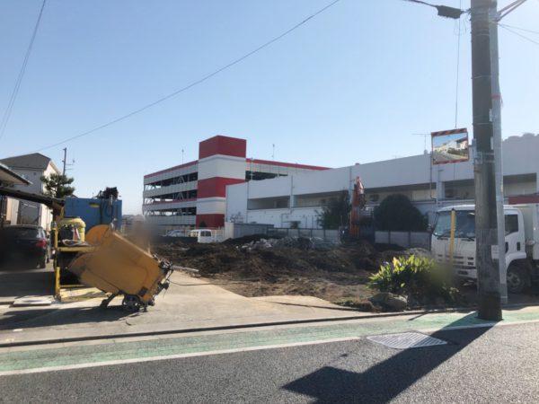 昭島市武蔵野 外構解体工事を行いました。