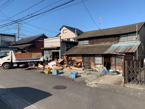 富士見市渡戸 解体工事を行いました。