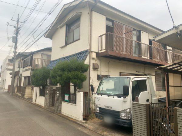 小平市津田町 解体工事を行いました。