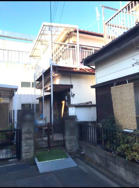 川口市朝日 解体工事を行いました。