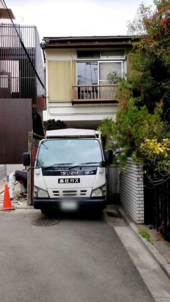 文京区千石 解体工事を行いました。