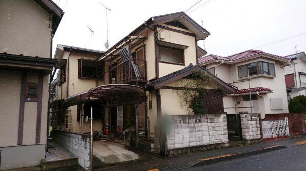 国分寺市富士本 解体工事を行いました。