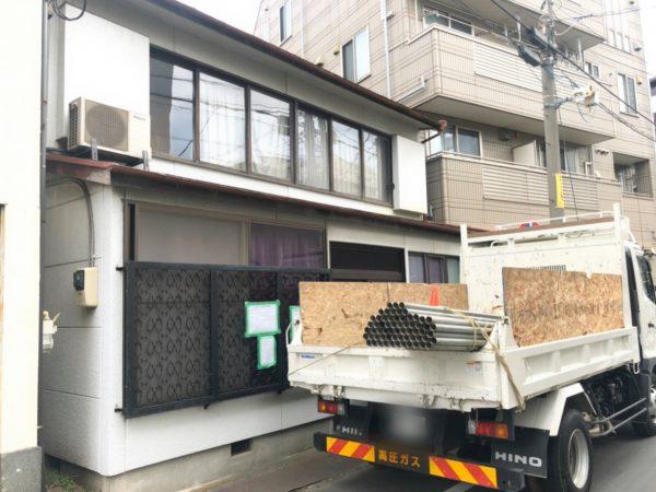 墨田区東向島 解体工事を行いました。
