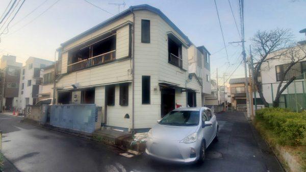 墨田区八広 解体工事を行いました。