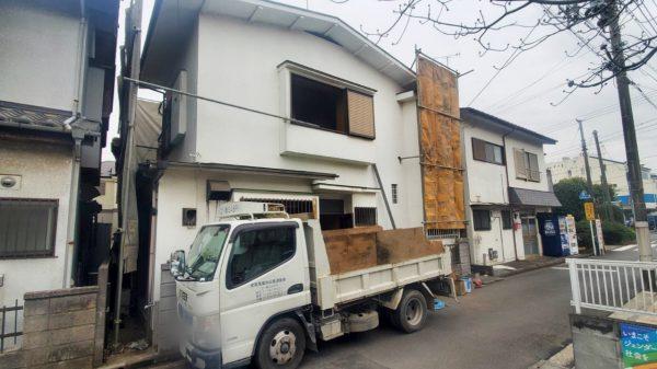 立川市栄町 解体工事を行いました。