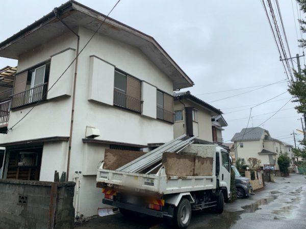 八王子市大楽寺町 解体工事を行いました。