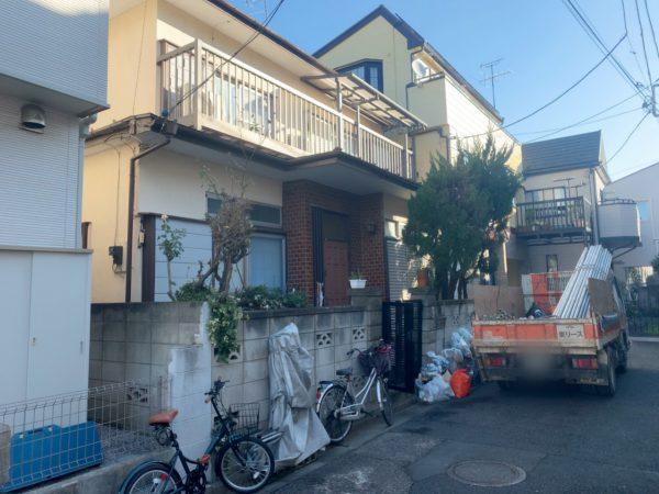 川口市芝中田 解体工事を行いました。