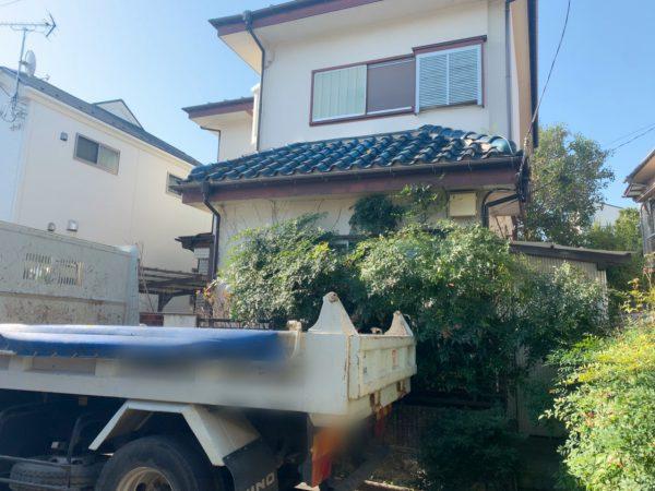 小金井市前原町 解体工事を行いました。