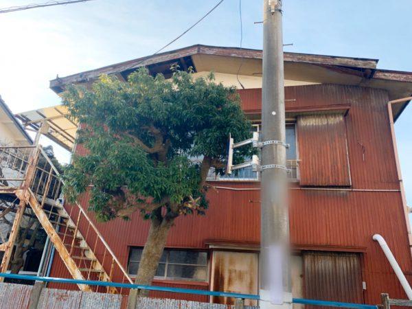 野田市野田 解体工事を行いました。