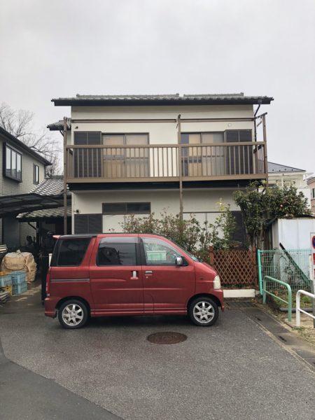 北本市二ツ家 解体工事を行いました。