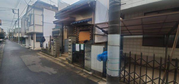 江戸川区松島 解体工事を行いました。