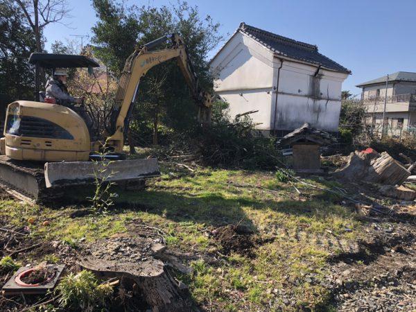 川越市小室 解体工事を行いました。