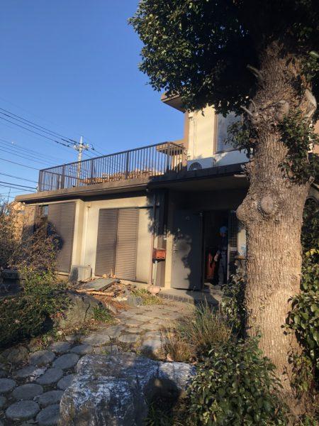 狭山市下奥富 解体工事を行いました。