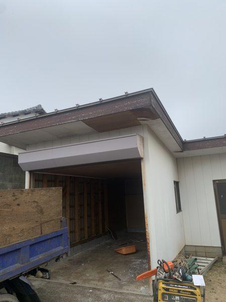 所沢市荒幡 小屋納屋解体工事を行いました。