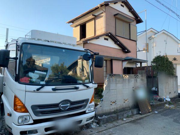 東村山市諏訪町 解体工事を行いました。
