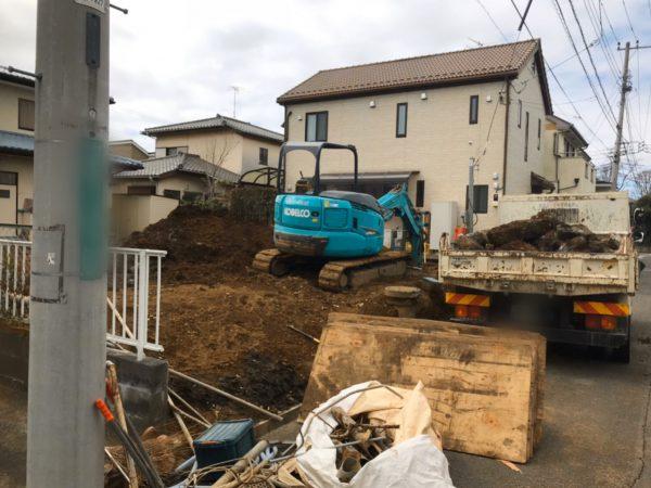 狛江市西野川 浄化槽撤去工事を行いました。