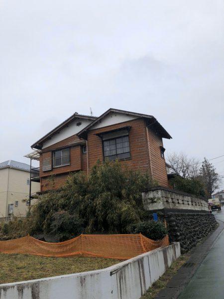 川崎市麻生区岡上 解体工事を行いました。