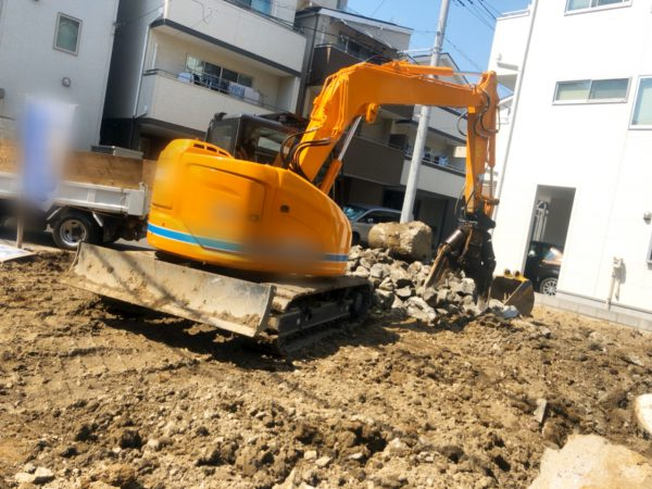 江戸川区西小岩 杭頭カット工事を行いました。