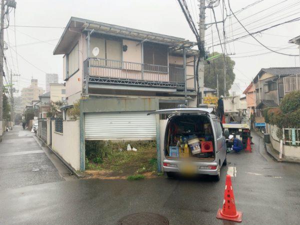世田谷区駒沢 解体工事を行いました。