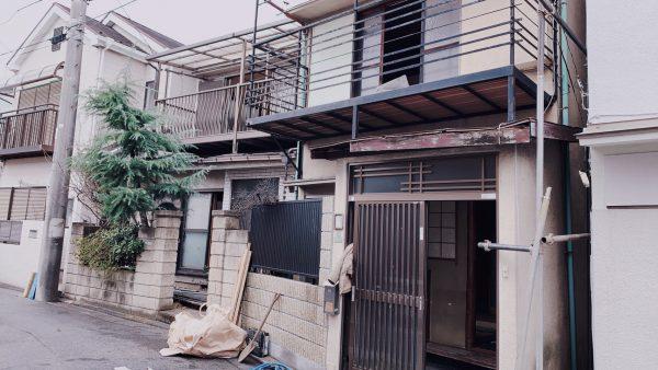 足立区本木北町 解体工事を行いました。