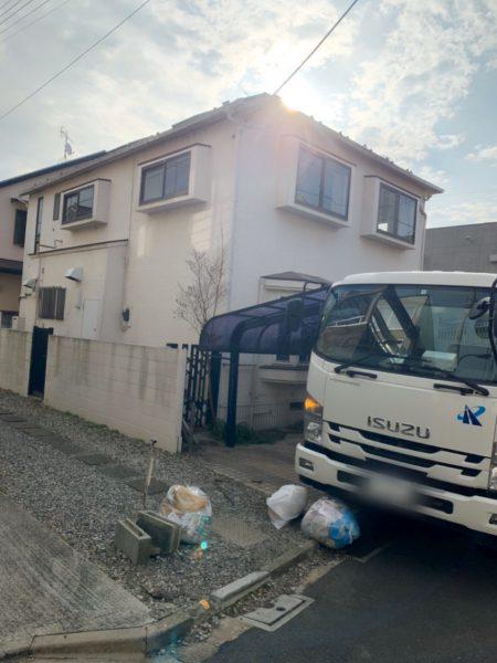 新宿区中井 解体工事を行いました。