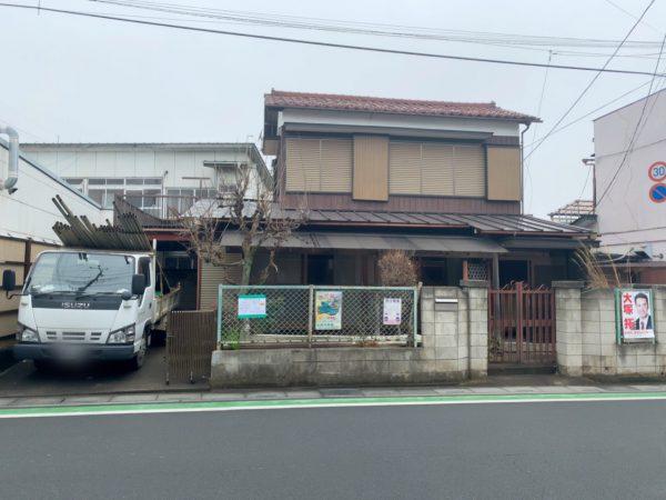 狭山市南入曽 解体工事を行いました。