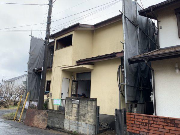所沢市上新井 解体工事を行いました。