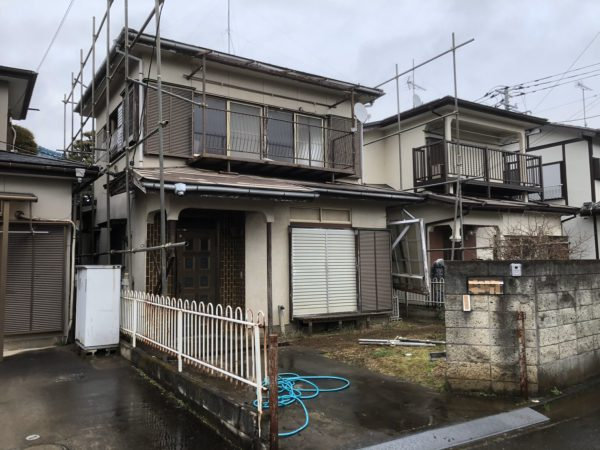 川越市大塚 解体工事を行いました。