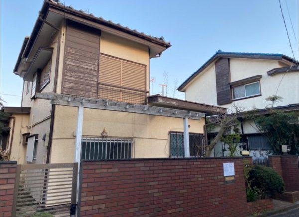 東村山市久米川 解体工事を行いました。