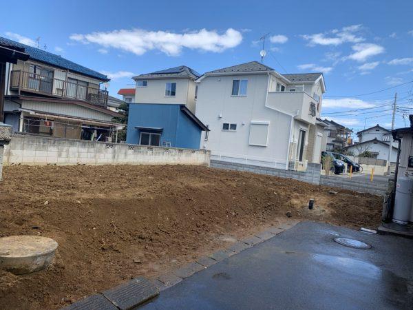 越谷市蒲生西町 地中埋設物撤去工事を行いました。