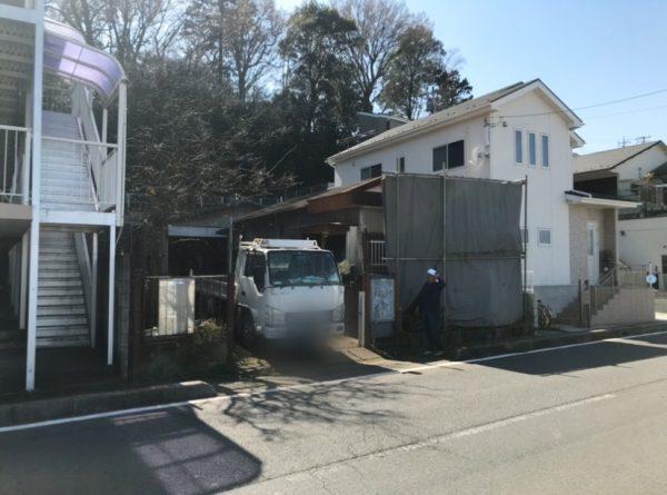 朝霞市浜崎 解体工事を行いました。