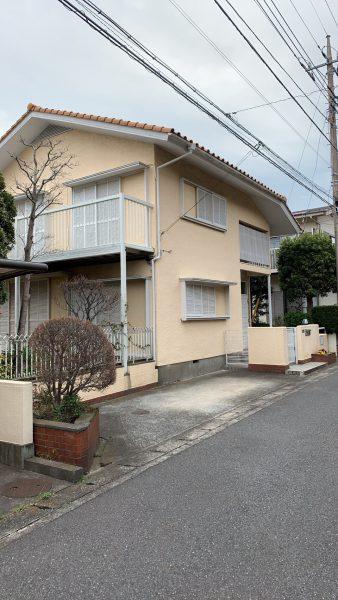 横浜市栄区本郷台 解体工事を行いました。