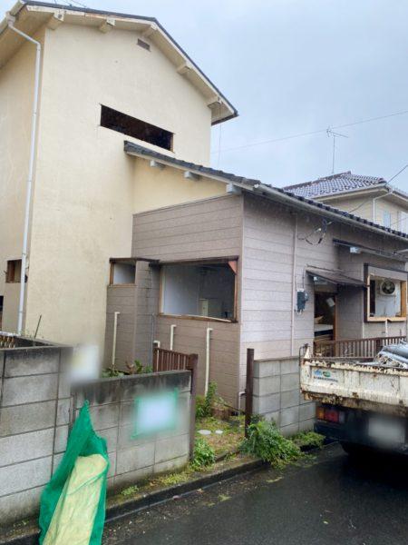 船橋市新高根 解体工事を行いました。