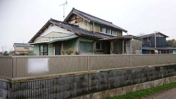 加須市上樋遣川 解体工事を行いました。