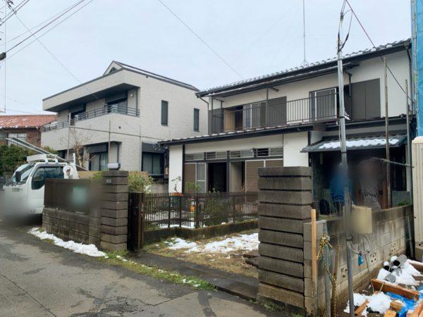 国分寺市東恋ヶ窪 解体工事を行いました。
