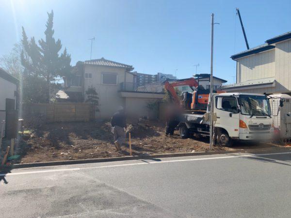 西東京市ひばりが丘 地中埋設物撤去工事を行いました。