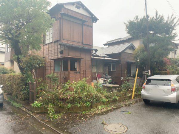 東村山市萩山町 解体工事を行いました。