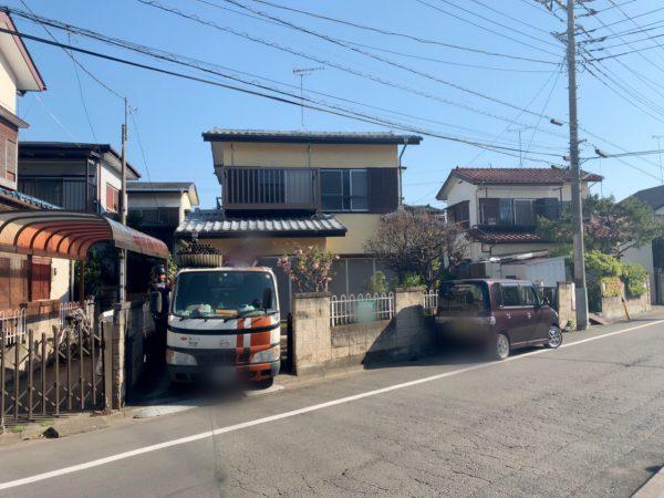 川越市新宿町 解体工事を行いました。