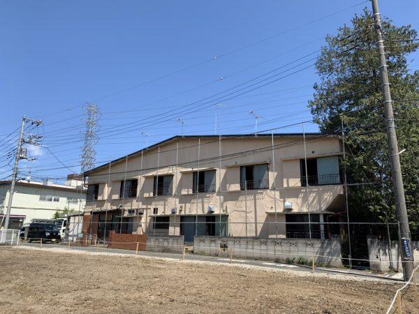 三鷹市野崎 解体工事を行いました。