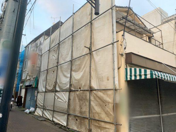 練馬区北町 地中埋設物撤去工事を行いました。