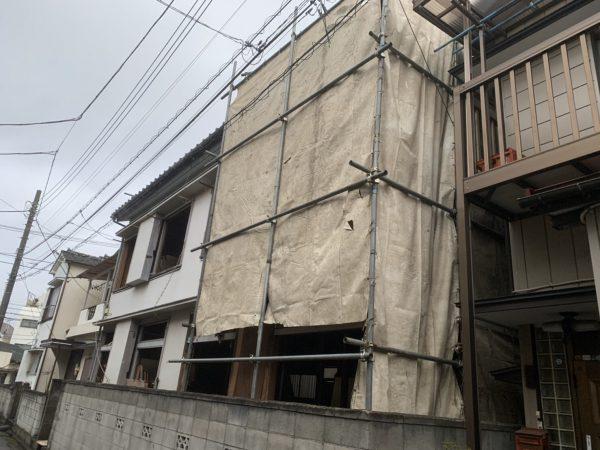 川口市辻 解体工事を行いました。