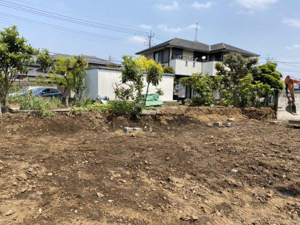 さいたま市岩槻区城南 残土移動工事を行いました。