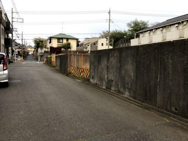 町田市金井町 擁壁撤去工事と地中解体工事を行いました。