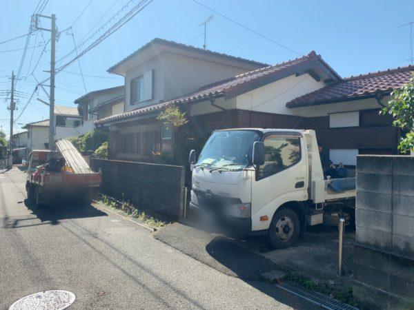 八王子市富士見町 解体工事を行いました。