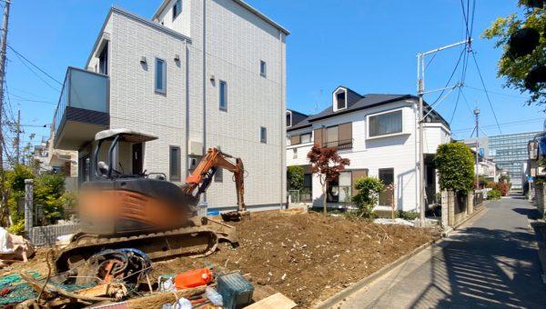 江戸川区東小岩 地中埋設物撤去工事を行いました。