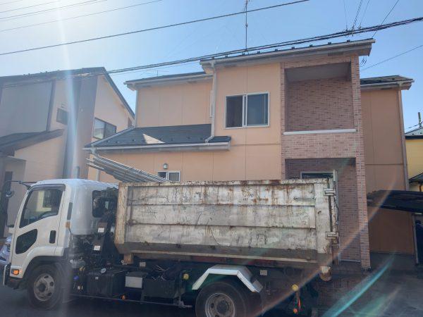 川越市的場 解体工事を行いました。