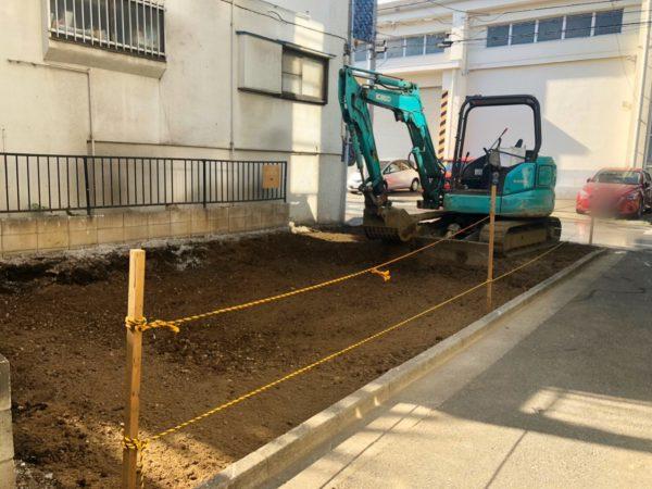 練馬区豊玉南 地中埋設物撤去工事を行いました。