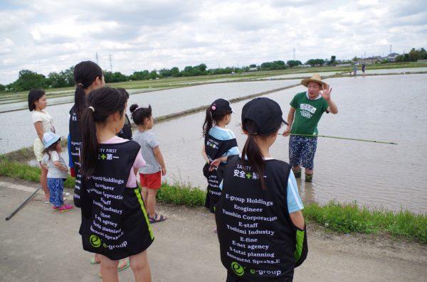 川越市の子供たちと農業体験をしました