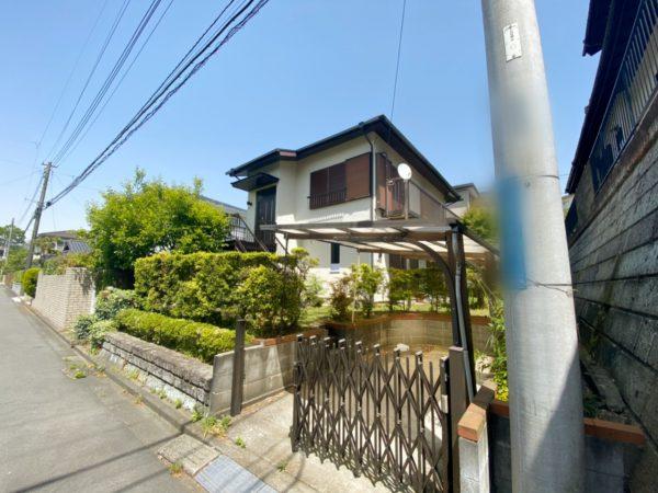 横浜市栄区庄戸 解体工事を行いました。